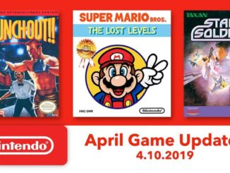 Details voor Nintendo Switch Online NES Games april 2019