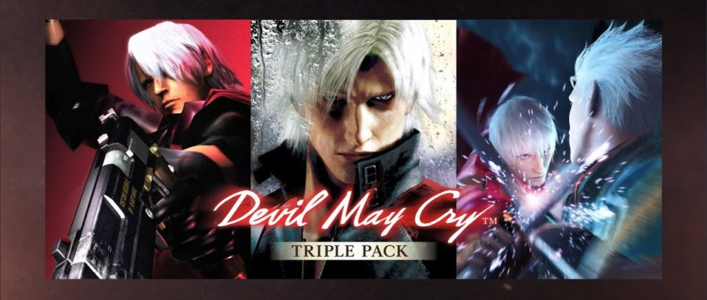 Devil May Cry Triple Pack – Komt 20 Februari 2020 uit in Japan