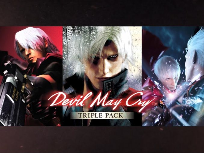 Nieuws - Devil May Cry Triple Pack – Komt 20 Februari 2020 uit in Japan