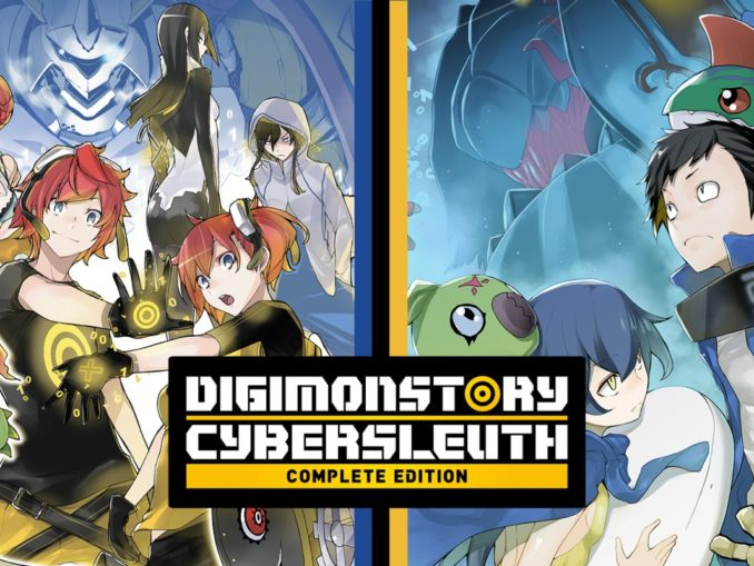 Release - Digimon Story Cyber Sleuth: Complete Edition