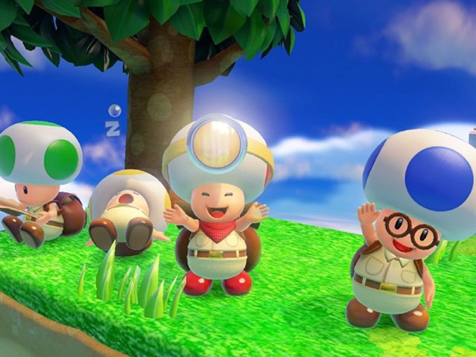 Nieuws - Digital Foundry; Captain Toad: Treasure Tracker Switch & 3DS