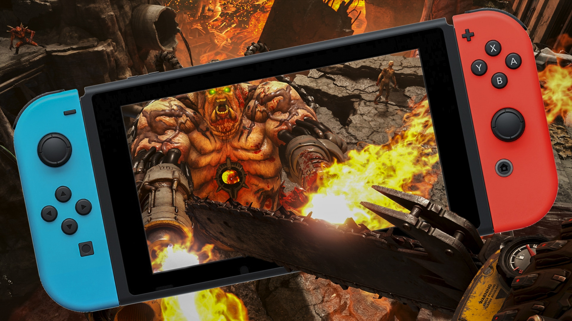 Digital Foundry - DOOM revisited - Nintendo Switch News
