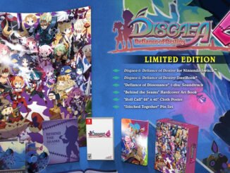Disgaea 6: Defiance Of Destiny Limited Edition