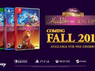 Disney Classic Games: Aladdin and the Lion King officially revealed