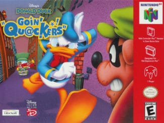 Release - Disney's Donald Duck: Goin' Quackers