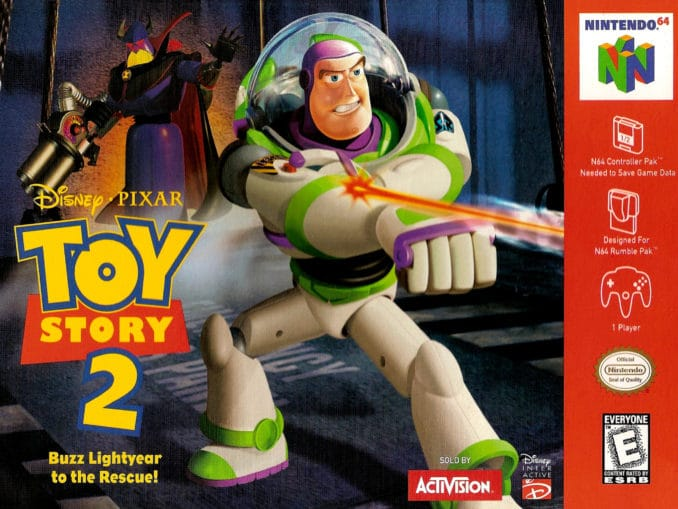 Release - Disney/Pixar Toy Story 2: Buzz Lightyear to the Rescue!