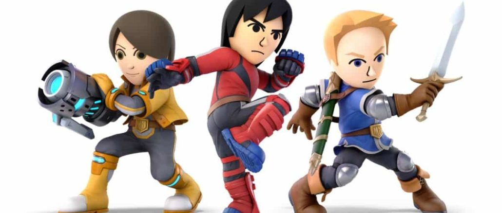 DLC for Mii Fighter costumes coming in 2019