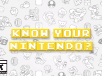 Do You Know Your Nintendo – Trivia Video Series