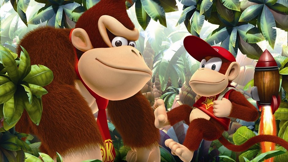 Donkey Kong Country Returns voor Nvidia Shield?