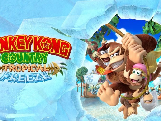 Nieuws - Donkey Kong Country: Tropical Freeze – Japanse overview trailer