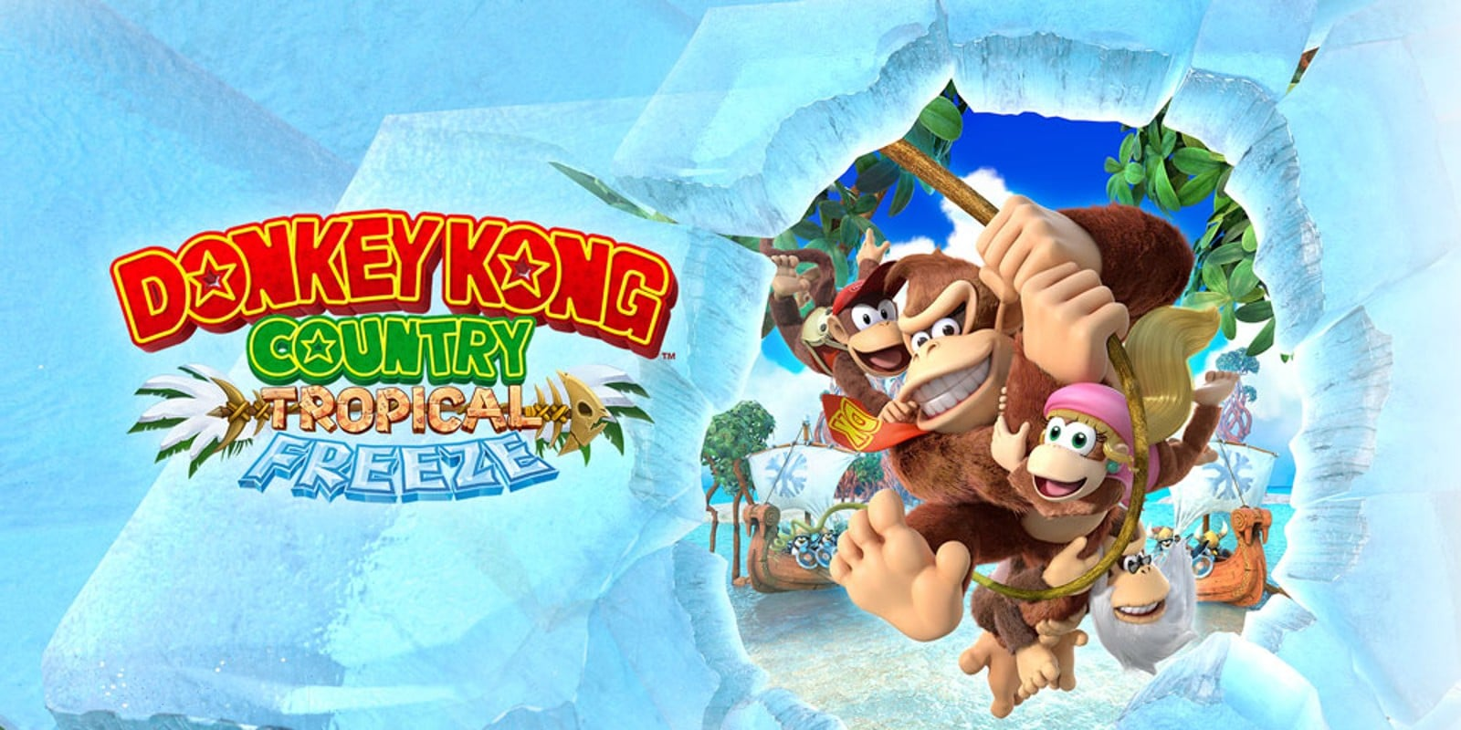 Donkey Kong Country: Tropical Freeze – Japanse overview trailer