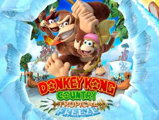 Donkey Kong Country: Tropical Freeze omkeerbare cover