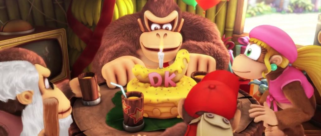 Donkey Kong Country Tropical Freeze verkopen verpletteren Wii U in Japan