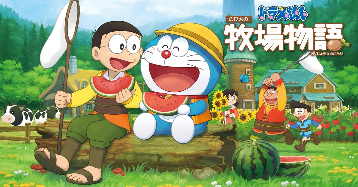 Doraemon Story Of Seasons – New Trailer