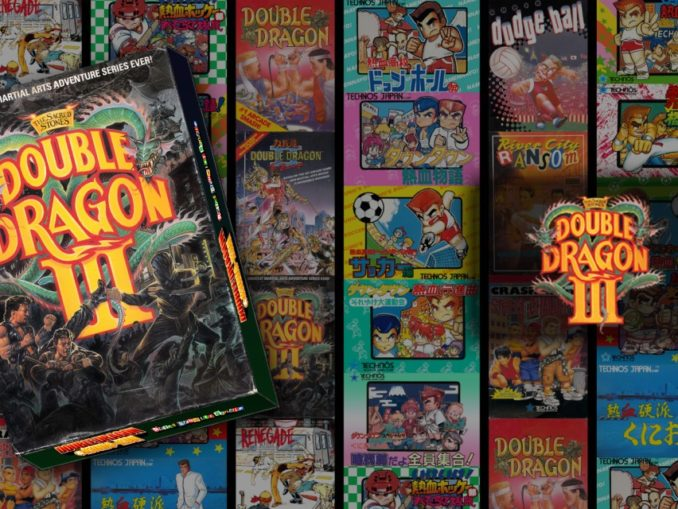 Release - DOUBLE DRAGON Ⅲ: The Sacred Stones
