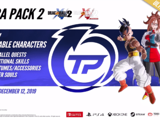 Dragon Ball Xenoverse 2 – Ultra Pack 2 gelanceerd