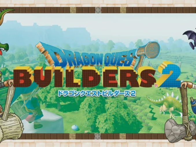 News - Dragon Quest Builders 2 – Automatic construction and new weapons