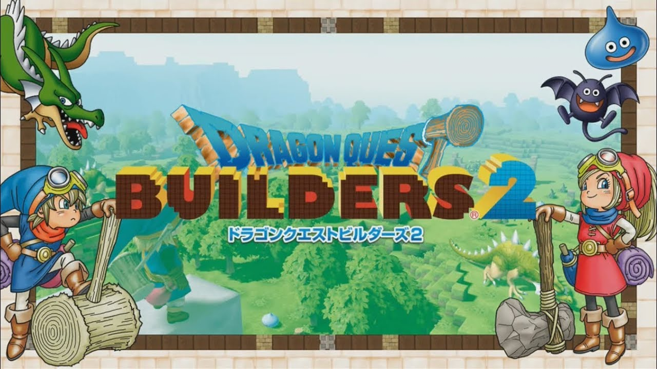 Dragon Quest Builders 2 – Automatic construction and new weapons
