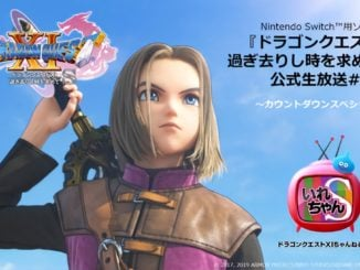 Dragon Quest XI Channel S livestream today will feature Mr. Sakurai