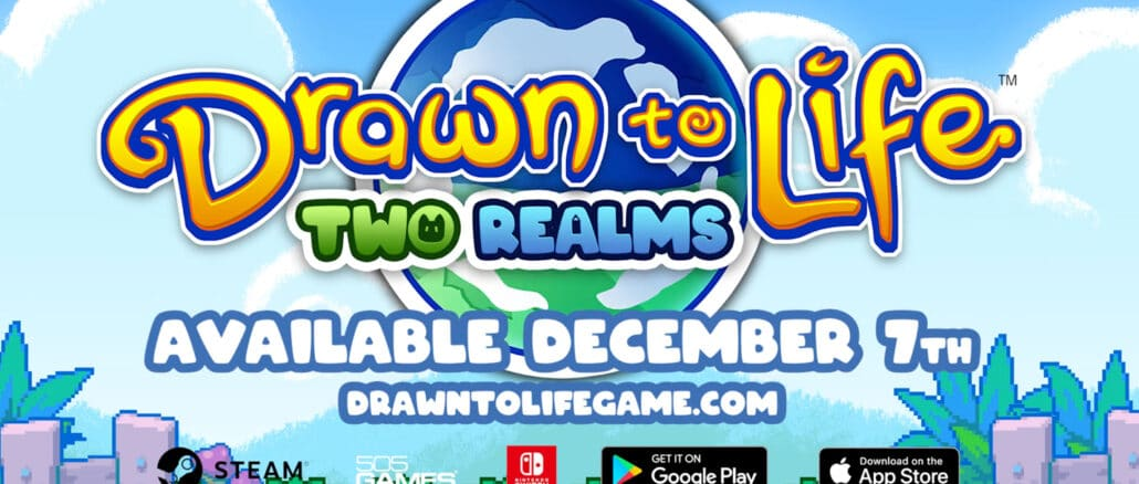 Drawn to Life: Two Realms komt 7December