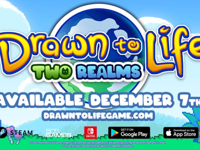 Nieuws - Drawn to Life: Two Realms komt 7December