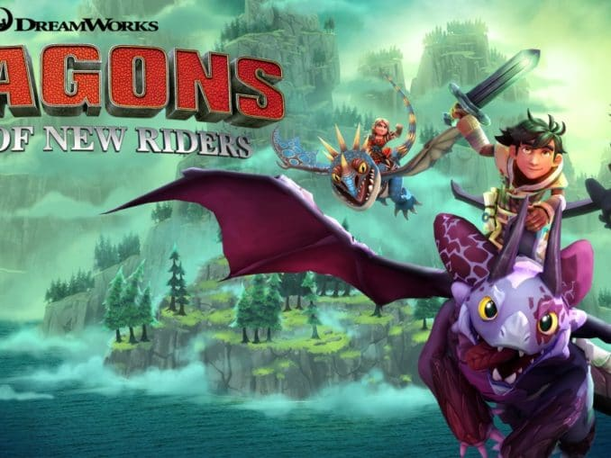 Release - DreamWorks Dragons Dawn of New Riders