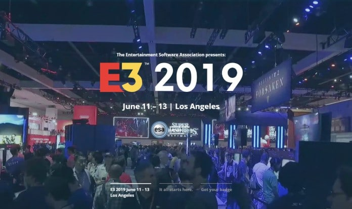 E3 2019 website geopend