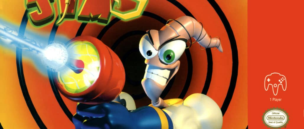 Earthworm Jim 3D