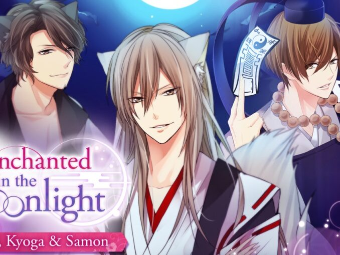 Release - Enchanted in the Moonlight – Miyabi, Kyoga & Samon –