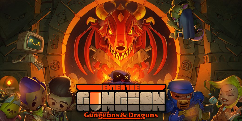 Enter the Gungeon's free DLC released
