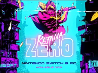 Epische Katana ZERO Launch Trailer