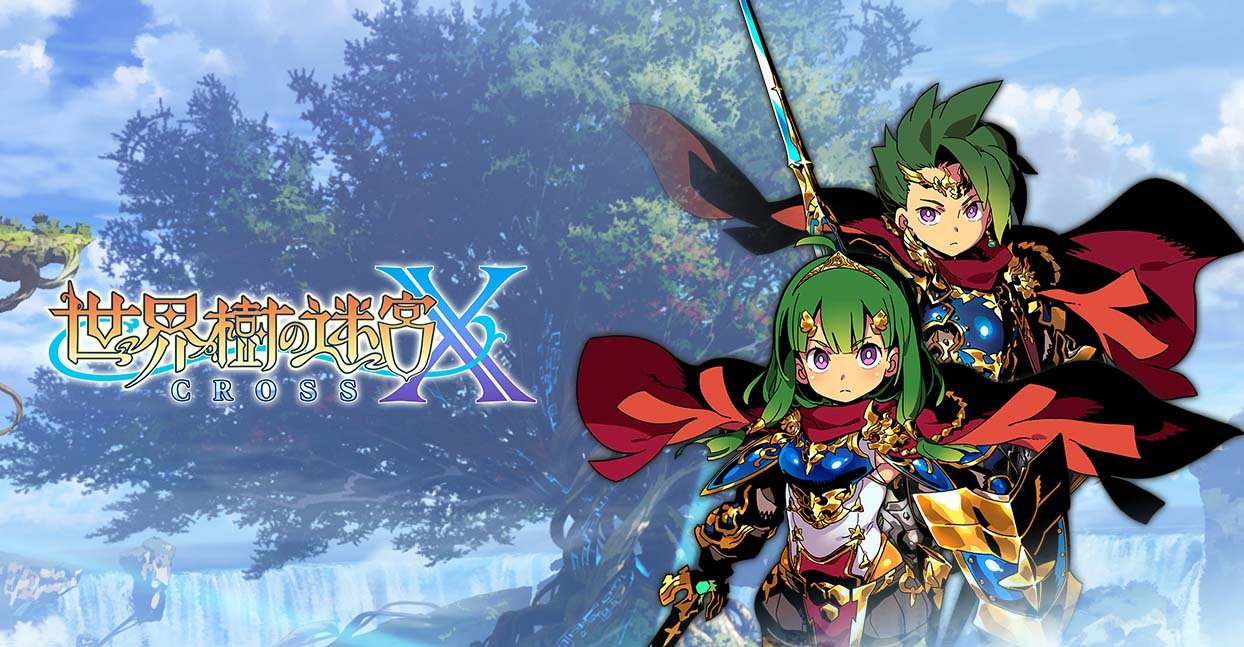 Etrian Odyssey X Hero Class Overview Trailer