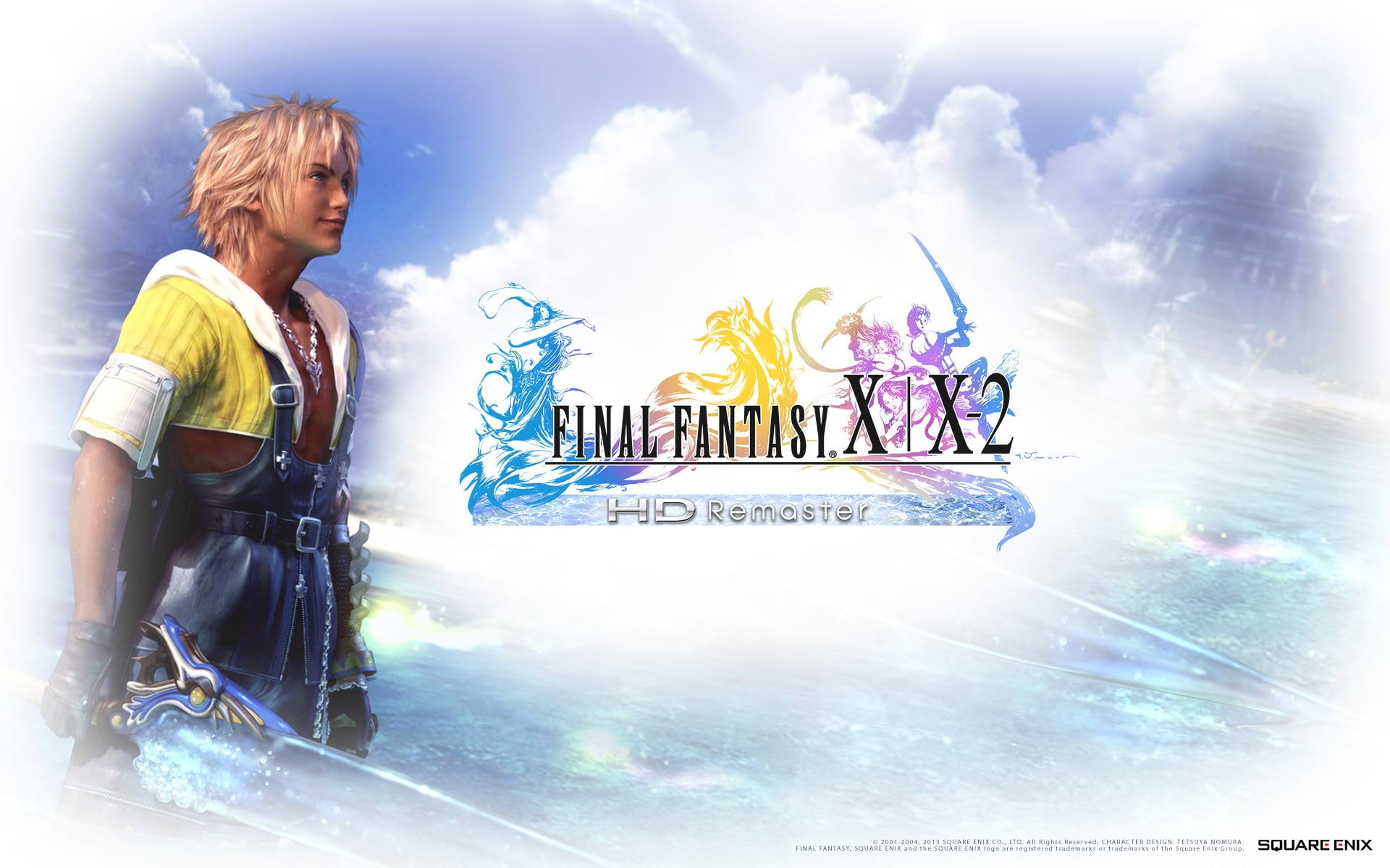 Europe: Final Fantasy X-2 HD Remaster a download code