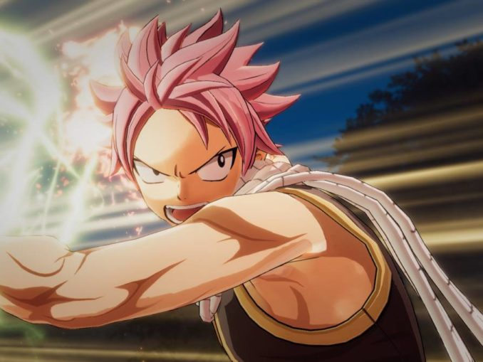 News - FAIRY TAIL roughly 30 hours, features 10+ playable characters