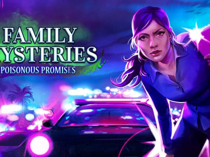 Release - Family Mysteries: Poisonous Promises