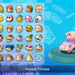 Fan Mod - Kirby, Samus, and Pirahna Plant added to Mario Kart 8 Deluxe