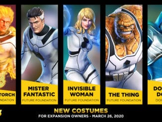 Fantastic Four Alternatieve outfits – Marvel Ultimate Alliance 3 DLC
