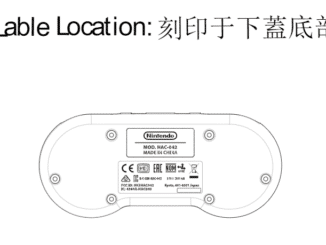 FCC filing: SNES controller coming!