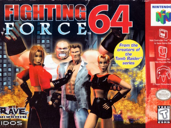 Release - Fighting Force 64