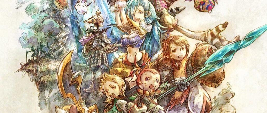 FINAL FANTASY CRYSTAL CHRONICLES Remastered Edition – Original Soundtrack aangekondigd