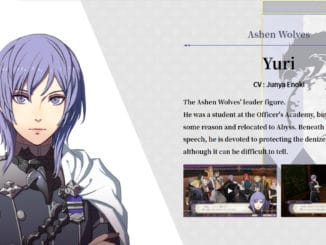Fire Emblem: Three Houses Cindered Shadows – Yuri Details