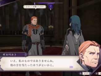 Fire Emblem: Three Houses – Details on Lost Items & Gifts