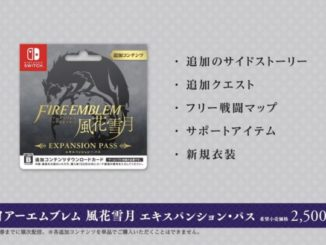 Fire Emblem: Three Houses – Expansion Pass sold as a download card