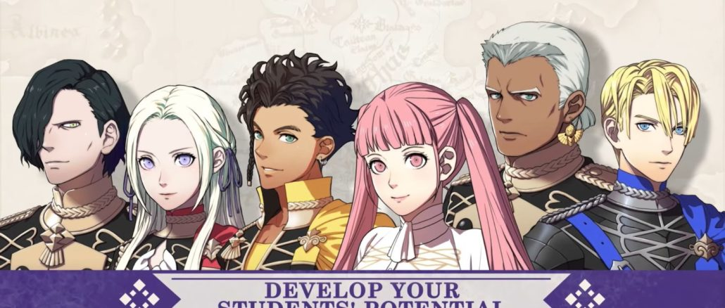 Fire Emblem: Three Houses – Introducing The Officers Academy