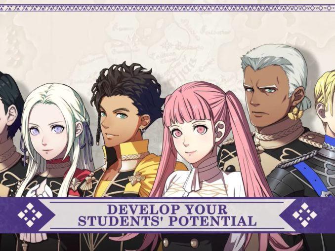 News - Fire Emblem: Three Houses – Introducing The Officers Academy