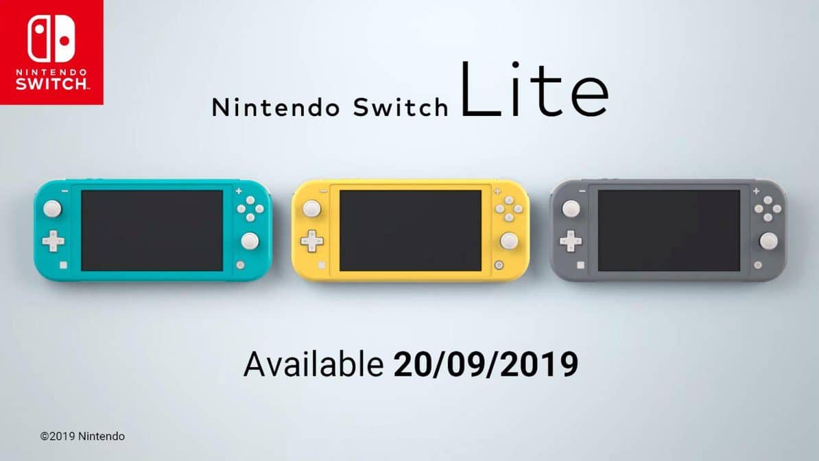First look at the Nintendo Switch Lite – Launching September 20