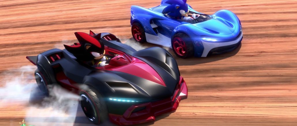 First Look – Team Sonic Racing's Ocean View