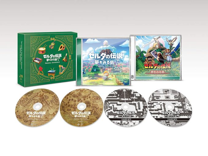Nieuws - Eerste Preview Trailer – The Legend Of Zelda: Link's Awakening Original Soundtrack