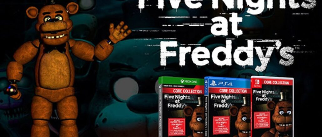 Five Nights At Freddy's: Core Collection – Fysieke Release – 12 January 2021