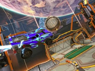 rocket league -flying